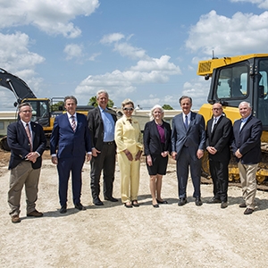 Blinn, Texas A&M University System break ground on RELLIS Agriculture and Workforce Education Center