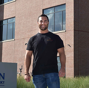U.S. Air Force veteran finds smooth transition to college life at RELLIS